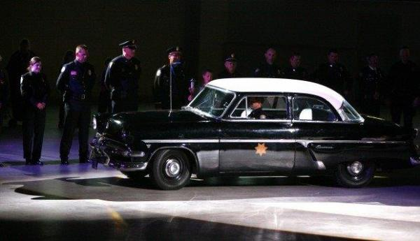1954 Montana Highway Patrol Car: 1954 Police Cruiser