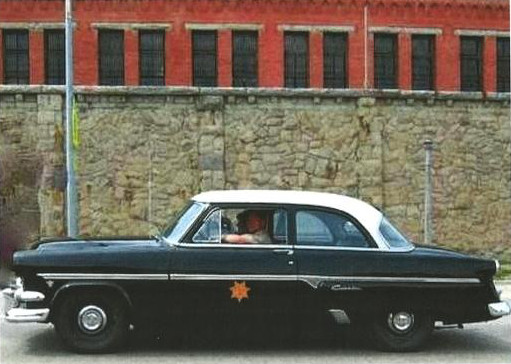 1954 Montana Highway Patrol Car: MHP Cruiser profile View