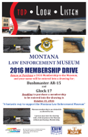 Montana Law Enforcement Museum membership drive contest